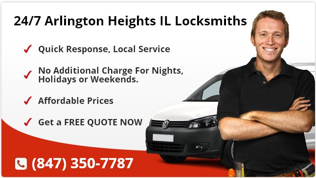 24 Hour Locksmith Arlington Heights IL